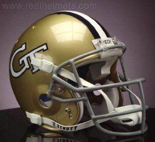 GEORGIA TECH YELLOW JACKETS 1967 1968 Football Helmet