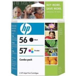 HP 56/57 Combo Pack Ink Cartridges