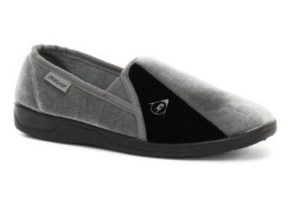 Dunlop Duncan Grey Mens Slippers: Shoes