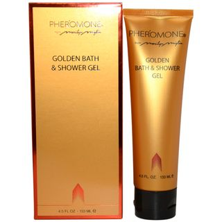 Pheromone Golden Bath & Shower Gel 4.5 oz for Women