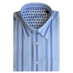 Bugatchi Uomo Mens Long sleeve Multistripe Button front Shirt