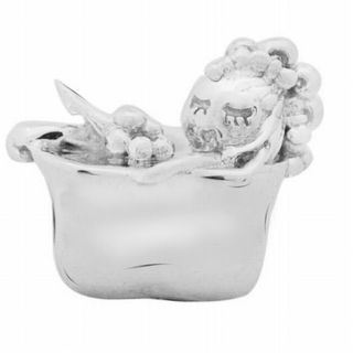 De Buman Sterling Silver Bathing Charm Bead