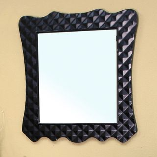 Veneto Black Bathroom Vanity Mirror