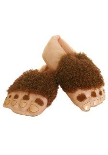 Haffling Feet   Hobbit Slippers (Standard): Shoes