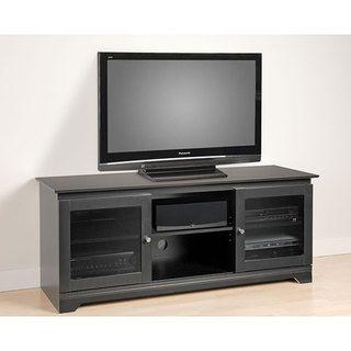 Broadway Black Flat panel Plasma / LCD TV Console