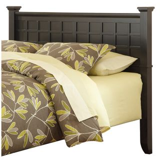 Home Styles Arts & Crafts Black Queen/Full Headboard