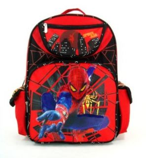 Marvel Spiderman Large Kids School Backpack Spider Action