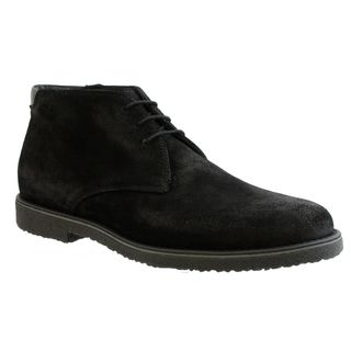 GBX Mens Black Suede Ankle Boots