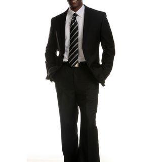 Ferrecci Slim Fit Mens Black Suit