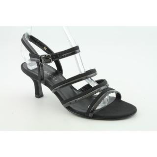 Vaneli Womens Muguet Patent Leather Sandals Wide (Size 7