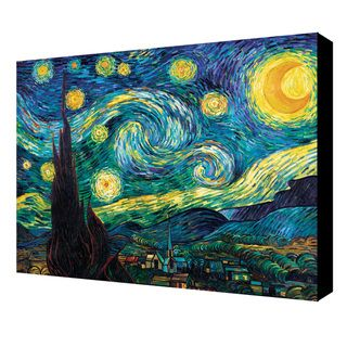 Vincent Van Gogh Starry Night Gallery wrapped Canvas Art