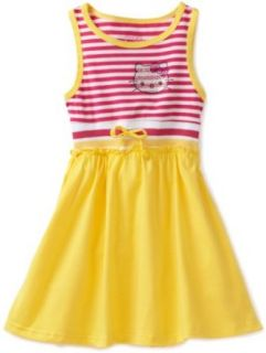 Hello Kitty Girls 2 6X Toddler Knit Dress With Rhinestones