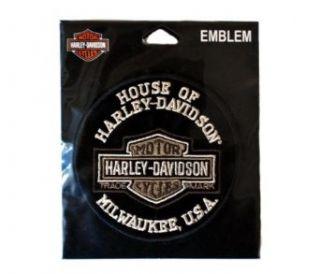 House of Harley Bar & Shield Emblem. Four Inch Diameter
