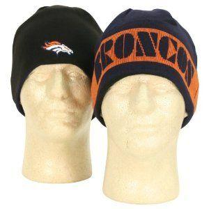 Denver Broncos NFL Team Apparel Reversible Navy & Black