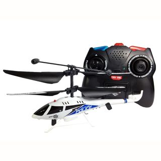 channel Remote Control Gyro Lights and Sounds Police Helicopter