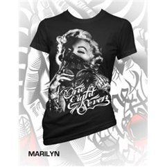187 Inc Clothing Bandit Womens Black Shirt Clothing