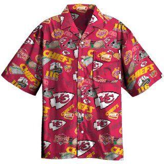NFL Kansas City Chiefs Tailgate Party Button Down Shirt XX