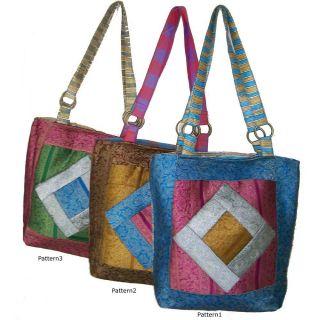 Cotton Zari Patchwork Sonu Shoulder Bag (India)