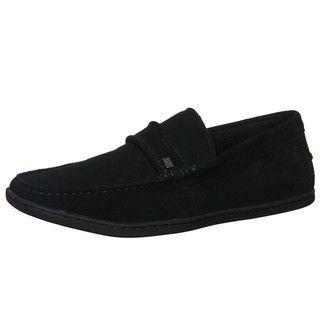 Steve Madden Mens Feenom Black Casual Sip on Shoes
