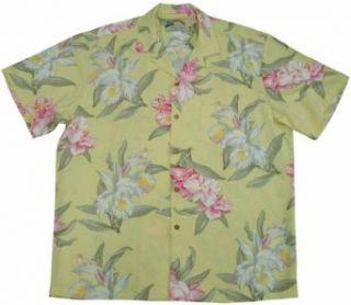 Paradise Found   Orchid   Mens Hawaiian Print Aloha Shirt