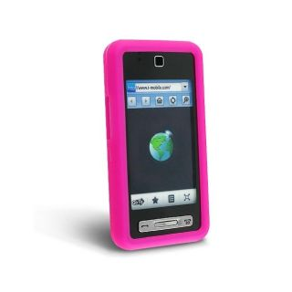 Eforcity Hot Pink Silicone Skin Case for Samsung SGH T919 Behold