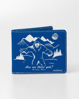Toddland Are We There Yeti? Blue Bifold Wallet Clothing