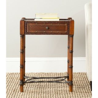 Safavieh Patrick Dark Brown Night Stand
