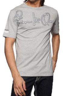 Vintage 55 Steve McQueen T Shirt MC QUEEN, Color Grey