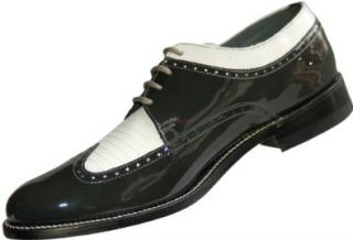 White Wingtip Spectator Two Tone Oxfords Formal Dress Shoes Shoes