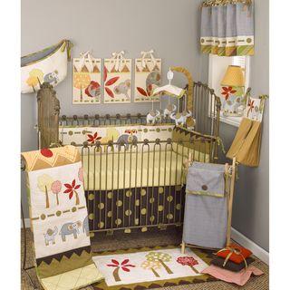 Cotton Tale Elephant Brigade 8 piece Crib Bedding Set