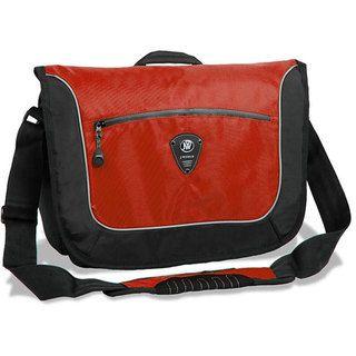 World Windgate Red Messenger Bag