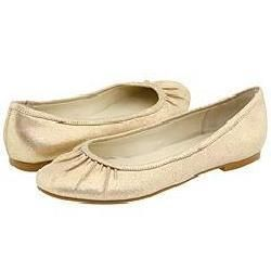 Steve Madden Stinng Champagne Suede Flats