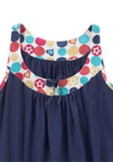 Dreams and Company Plus Size Sleeveless print sleepshirt