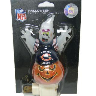 Chicago Bears Halloween Ghost Night Light
