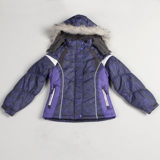London Fog Girls All over Design Jacket