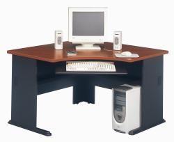 Bush Advantage Collection Cherry Corner Desk