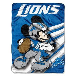 NFL Detroit Lions Mickey Mouse Ultra Plush Micro Super