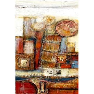 Well Stocked Pantry 1 Hand Painted Canvas Art