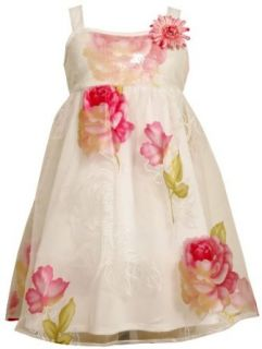 Bonnie Jean Girls 2 6X Sequin Bodice To Burn Out Flowers