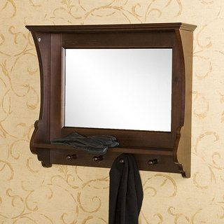 Kelly Espresso Wall Mirror