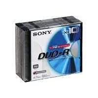 Sony DPR 120   DVD+R x 10   4.7 Go   Achat / Vente CD   DVD   BLU RAY