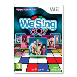 WE SING 80S / Jeu console Wii   Achat / Vente WII WE SING 80S / Jeu
