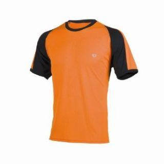 Pearl iZUMi Mens Phase Running T Shirt,Oj/Black,Small