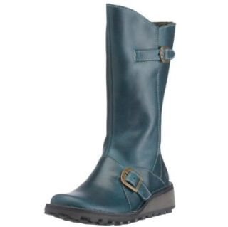 com Fly london Mes Petrol Womens New Cheap Winter Boots Shoes Shoes
