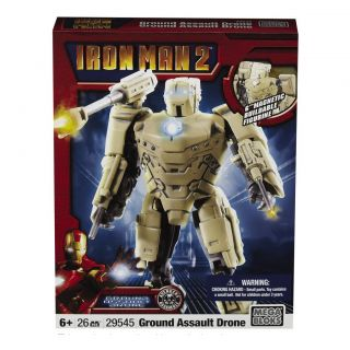 Mega Bloks Iron Man 2 Army Drone Toy Set