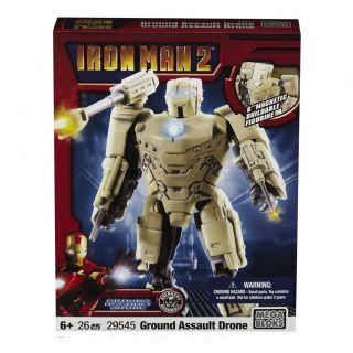 Mega Bloks Iron Man 2 Army Drone Toy Set