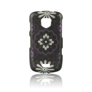 Luxmo Samsung Droid Charge Hawaiian Flower Rubber Coated Case