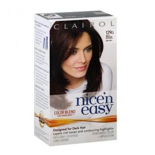 Clairol Nice N Easy #129G Rich Medium Golden Brown Hair Color (Pack