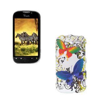 HTC myTouch 4G Double Butterfly Case