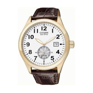Citizen Eco Drive WR100 Rose Goldtone Mens Watch